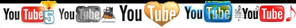 You Tube logos